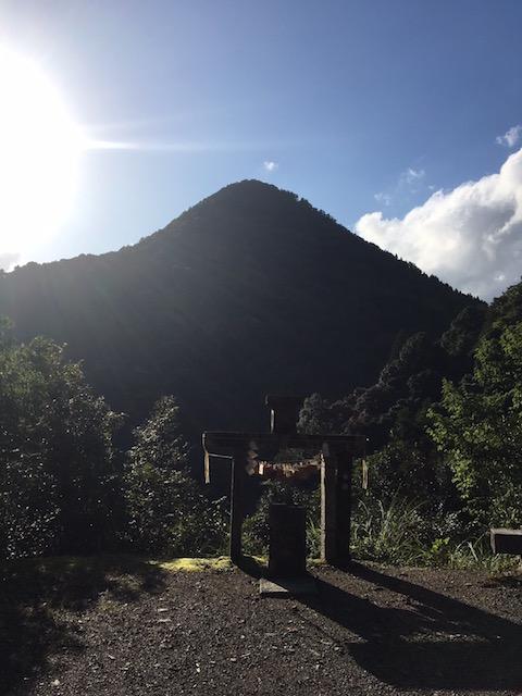 日室山遥拝