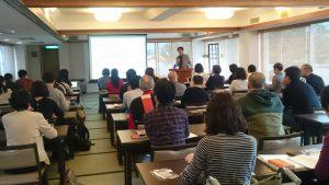 丹後カニ合宿広岡先生特別講義